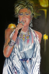 """I Am What I Am""  - Artist Ann Clarke"