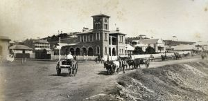 Kiama PO corner, 1880s