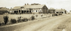 The new hospital in the 1930s